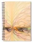 Landscape Of Fantasy Spiral Notebook