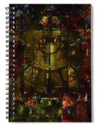 Landscape Of Hell Spiral Notebook