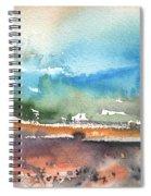 Landscape Of Lanzarote 05 Spiral Notebook
