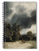 Landscape On The Outskirts Of Paris Spiral Notebook