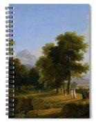 Landscape. Site Of Greece Spiral Notebook