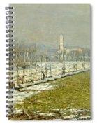 Landscape. Winter Sun Spiral Notebook