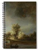 Landscape With A Stone Bridge Spiral Notebook