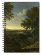 Landscape With Abraham And Isaac Spiral Notebook