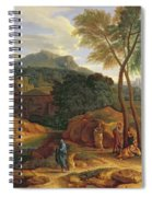 Landscape With Conopion Carrying Spiral Notebook