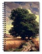 Landscape With Oaks Spiral Notebook
