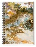Landscape With Palmettos Spiral Notebook