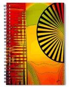 Landscape With Umbrella Spiral Notebook