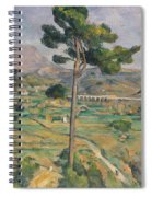 Landscape With Viaduct Spiral Notebook