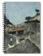 Landscape With Water Mill, C.1871 Spiral Notebook