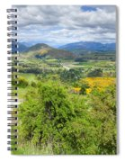 Landscape With Winding Road Spiral Notebook