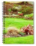 Landscaped Garden Spiral Notebook