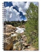 Alluvial Fan Colorado Spiral Notebook