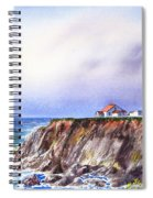 Lighthouse Point Arena California  Spiral Notebook
