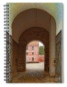 Landskrona Citadel Entrance Spiral Notebook