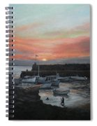 Lanes Cove Sunset Spiral Notebook