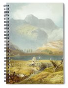 Langdale Pikes, From The English Lake Spiral Notebook