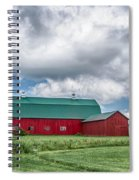 Langford Barn  7d06202 Spiral Notebook