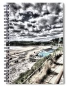 Langland Bay Painterly Spiral Notebook