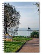Langmoor-lister Gardens -- Lyme Regis Spiral Notebook