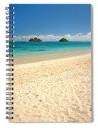 Lanikai Beach 2 - Oahu Hawaii Spiral Notebook
