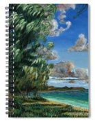 Lanikai Beach Spiral Notebook