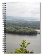 Lansing Bridge Panoramic Spiral Notebook