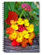 Lantana Flowers 2 Spiral Notebook