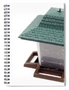 Lantern Bird Feeder Spiral Notebook