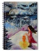 Lantern Festival Spiral Notebook