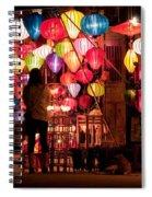 Lantern Stall 01 Spiral Notebook