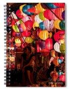 Lantern Stall 02 Spiral Notebook
