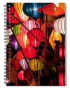Lantern Stall 03 Spiral Notebook