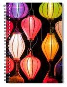 Lantern Stall 04 Spiral Notebook