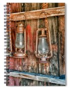 Lanterns Spiral Notebook