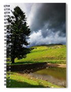 Lanty's Tarn On A Stormy Afternoon Spiral Notebook