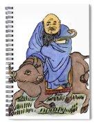 Lao-tzu (c604-531 B Spiral Notebook