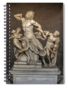Laocoon And His Sons Spiral Notebook