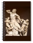 Laocoon And Sons Spiral Notebook