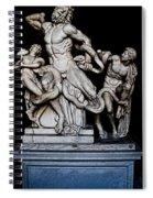 Laocoon And The Snake Spiral Notebook