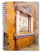 Lararium Of Family Altar, Seen In Situ Spiral Notebook