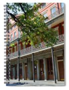 Upper Pontalba Building Photo Spiral Notebook