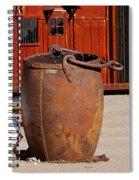 Large Mining Bucket Spiral Notebook