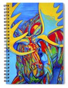 Large Moose Spiral Notebook
