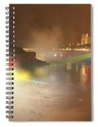 Large Niagara Nighttime Panorama Spiral Notebook