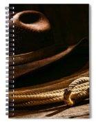 Lariat And Hat Spiral Notebook