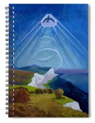 Lark Ascending Spiral Notebook