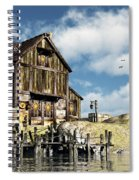 Lars Place... Spiral Notebook