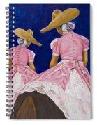Las Charras Rosadas Spiral Notebook