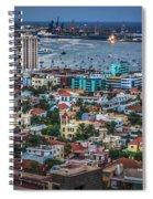 Las Palmas De Gran Canaria Spain Spiral Notebook